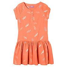 Buy Mango Kids Girls' Repeat Feather Print Dress Online at johnlewis.com