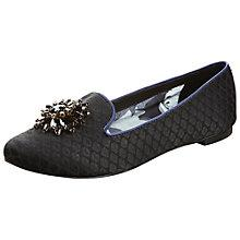 Buy Ted Baker Ibbien Loafers, Black Online at johnlewis.com