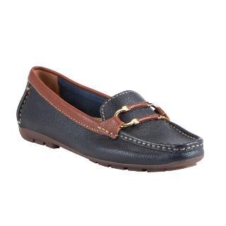 Buy John Lewis Paris Leather Bar Detail Loafers Online at johnlewis.com