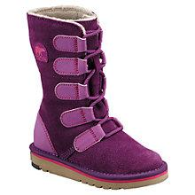 Buy Sorel Campus Glory Boots, Purple/Pink Online at johnlewis.com