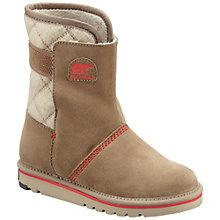 Buy Sorel Campus Children's Boots, Oxford Tan Online at johnlewis.com