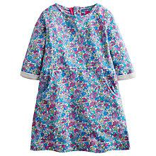 Buy Little Joule Girls' Betsy Floral Dress, Purple Online at johnlewis.com