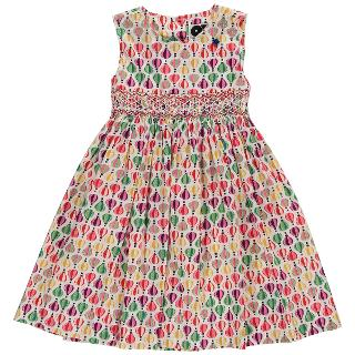 Buy Question Everything Girls' Suki Hand Smocked Balloon Dress, Multi Online at johnlewis.com