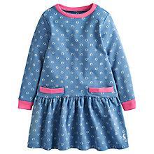 Buy Little Joule Girls' Bangles Horseshoe Dress Online at johnlewis.com