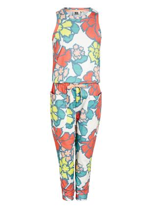 Buy Kin by John Lewis Girls' Floral Print Jersey Jumpsuit, Multi Online at johnlewis.com