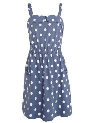Buy John Lewis Girl Spot Jersey Sun Dress Online at johnlewis.com