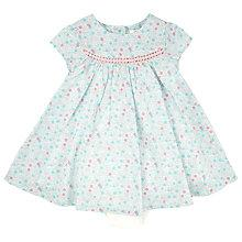 Buy John Lewis Baby Ditsy Floral Dress, Blue Online at johnlewis.com