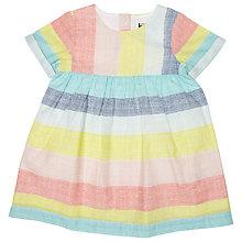 Buy Kin by John Lewis Grid Stripe Dress, Multi Online at johnlewis.com