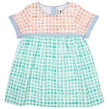 Buy Kin by John Lewis Watercolour Spot Dress, Multi Online at johnlewis.com