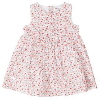 Buy John Lewis Ditsy Floral Dress, Red Online at johnlewis.com