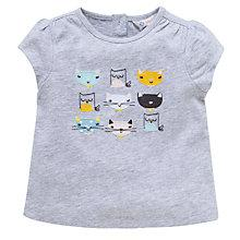 Buy John Lewis Cat T-Shirt, Grey Online at johnlewis.com