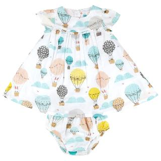 Buy John Lewis Air Balloon Dress and Knickers, Multi Online at johnlewis.com