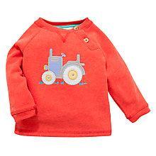 Buy John Lewis Tractor Jumper, Red Online at johnlewis.com