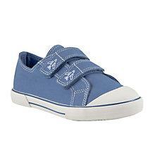 Buy John Lewis Double Velcro Canvas Trainers Online at johnlewis.com