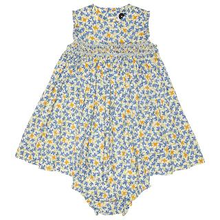 Buy Question Everything Baby's Willow Bird Dress, Blue/Multi Online at johnlewis.com