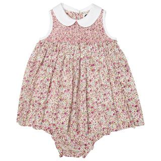 Buy Question Everything Baby's Anna Floral Dress, Pink Online at johnlewis.com