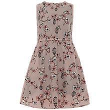 Buy Yumi Girl Birdcage Print Dress, Beige Online at johnlewis.com