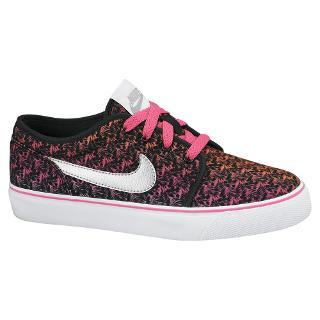Buy Nike Children's Toki Low Top Trainers, Black/Multi Online at johnlewis.com