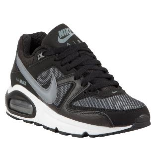 Buy Nike Air Max Command Trainers, Black Online at johnlewis.com
