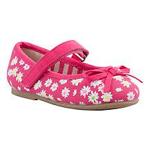 Buy John Lewis Xanthe Daisy Ballet Pumps Online at johnlewis.com