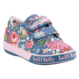 Buy Lelli Kelly Sienna V Beo2 Rip-Tape Trainers, Blue/Multi Online at johnlewis.com