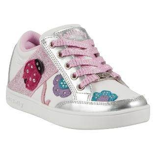 Buy Lelli Kelly Coccinella Lace-Up Trainers, White/Metallic Online at johnlewis.com