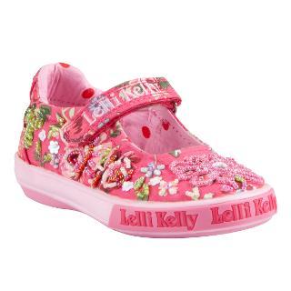 Buy Lelli Kelly Sienna Embellished Shoes, Pink/Red Online at johnlewis.com