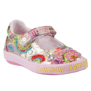 Buy Lelli Kelly Rainbow Shoes, Multi Online at johnlewis.com