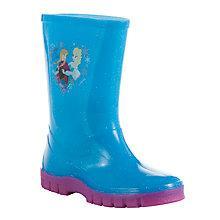 Buy Disney's Frozen Anna & Elsa Wellington Boots Online at johnlewis.com