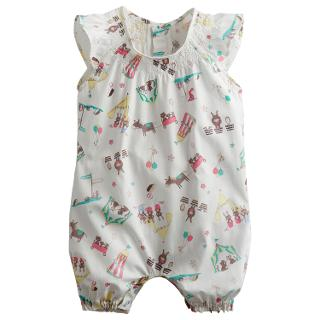 Buy Baby Joule Uma Scene Bodysuit, Cream Online at johnlewis.com