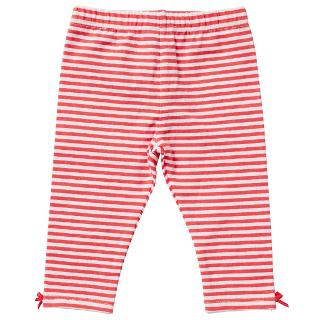 Buy John Lewis Baby's Stripe Leggings, Pink/White Online at johnlewis.com