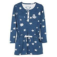 Buy Mango Kids Girls' Long Sleeve Star Print Dress Online at johnlewis.com