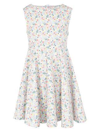 Buy John Lewis Girl Ditsy Daisy Dress, Multi Online at johnlewis.com