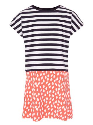 Buy Donna Wilson for John Lewis Leaf & Stripe Dress with Headband, Multi Online at johnlewis.com