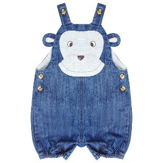 Buy John Lewis Monkey Dungarees, Blue Online at johnlewis.com