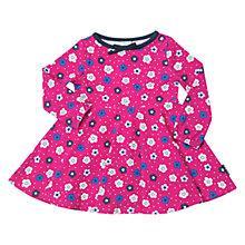 Buy Polarn O. Pyret Baby Floral Dress, Pink Online at johnlewis.com