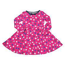 Buy Polarn O. Pyret Girls' Floral Dress, Purple Online at johnlewis.com