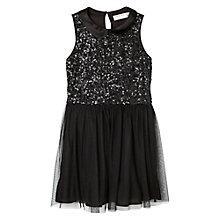 Buy Mango Kids Girls' Sequin Tulle Dress Online at johnlewis.com