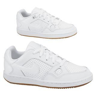 Buy Nike Son Of Force GS Trainers, White Online at johnlewis.com