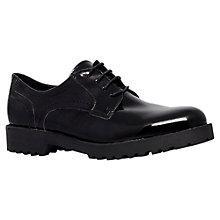 Buy Carvela Lisbon Patent Leather Brogues, Black Online at johnlewis.com