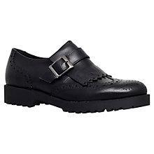 Buy Carvela Labour Leather Brogues, Black Online at johnlewis.com