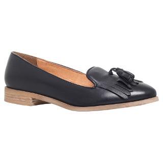 Buy KG by Kurt Geiger Leyton Leather Tassel Loafers Online at johnlewis.com