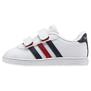 Buy Adidas VL CMF Court-Style Trainers Online at johnlewis.com