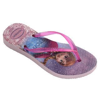 Buy Havaianas Frozen Slim Flip Flops, Rose Online at johnlewis.com