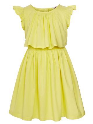 Buy John Lewis Girl Pinafore Dress, Yellow Online at johnlewis.com