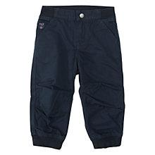 Buy Polarn O. Pyret Baby Cargo Trousers, Navy Online at johnlewis.com