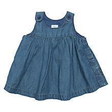 Buy Polarn O. Pyret Baby Denim Dress, Denim Online at johnlewis.com