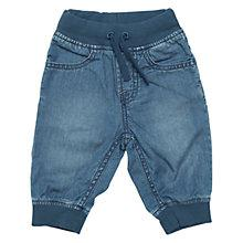 Buy Polarn O. Pyret Baby Denim Trousers, Denim Online at johnlewis.com