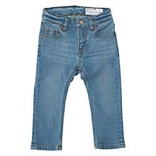 Buy Polarn O. Pyret Baby Slim Denim Jeans, Denim Online at johnlewis.com