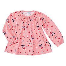 Buy Polarn O. Pyret Baby Fun Print Long Sleeve Top Online at johnlewis.com